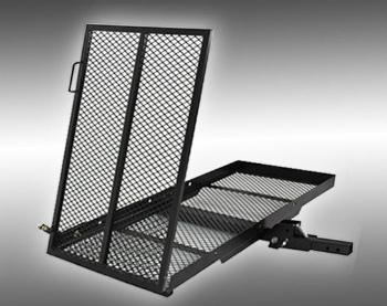 ヒッチバスケット カーゴキャリア Mobility Carrier Wheelchair Electric Scooter Rack Hitch Disability Loading Ramp モビリティキャリア車椅子電動スクーターヒッチ障害がランプのロードラック
