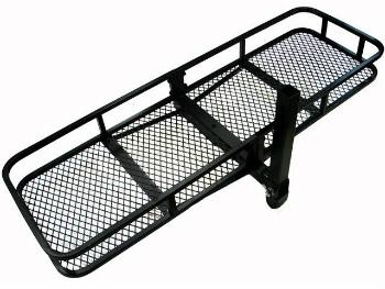 ヒッチバスケット カーゴキャリア 60x20 Folding Luggage Cargo Basket Carrier Truck SUV Trailer Receiver Hitch Rack 60x20折りたたみ荷物カーゴバスケットキャリアトラックSUVトレーラーレシーバーヒッチラック