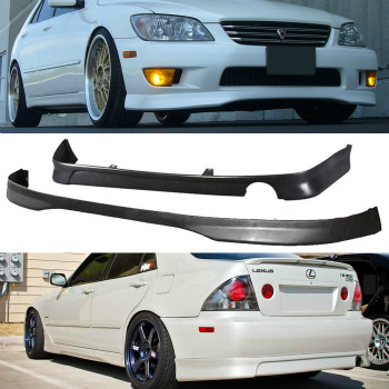 レクサス IS300  エアロ JDM 2001-2005 LEXUS IS300 PU TR FRONT J REAR BUMPER LIP SPOILER BODY KIT COMBO JDM 2001-2005 LEXUS IS300 PU TR FRONT JリアバンパーリップスポイラーボディキットのCOMBO