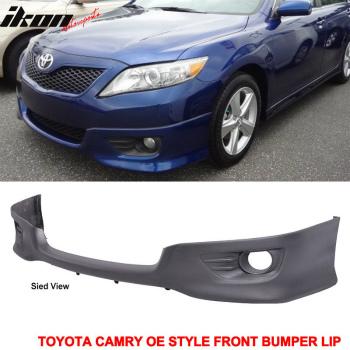 トヨタ カムリ エアロ 2010-2011 Toyota Camry OE Style Front Lower Bumper Valance Spoiler PU 2010-2011トヨタカムリOEスタイルフロントロアバンパーヴァランススポイラーPU