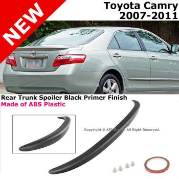 トヨタ カムリ エアロ 2007 to 2011 Toyota Camry Trunk Rear Lip Spoiler Black Primer Finish 2011トヨタカムリトランクリアリップスポイラーブラックプライマーフィニッシュへ2007
