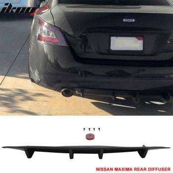 日産 Maxima エアロ 2009-2014 For Nissan Maxima ST Style Rear Under Diffuser Lip 日産マキシマSTスタイルリヤアンダーディフューザーのリップについては2009年から2014年