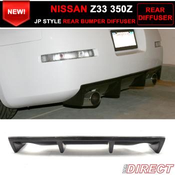日産 Fairlady Z  エアロ Fit For 2003-2008 Nissan Fairlady Z Z33 350Z J Style Rear Bumper Diffuser 2003-2008日産フェアレディZ Z33 350Z Jスタイルリアバンパーディフューザーのための適合