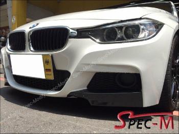 BMW 320i 328i 335i エアロ Performance Carbon Fiber Front Splitter Lip For BMW 2012+ 320i 328i 335i M Sport BMW 2012+ 320iの328iの335i Mスポーツのパフォーマンスカーボンファイバーフロントスプリッターリップ