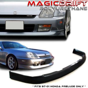 ホンダ Prelude エアロ For 97-01 Honda Prelude Front Bumper Lip Spoiler Body Kit OE Optional Urethane P 97から01のためのホンダプレリュードフロントバンパーリップスポイラーボディキットOEオプションのウレタンP