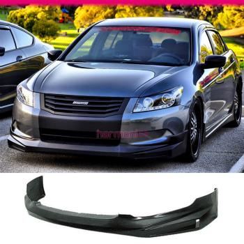 ホンダ Accord   エアロ Fit For 08-10 Honda Accord Sedan 4Dr MUG Style PU Front Bumper Lip Spoiler 08-10ホンダアコードセダン4DR MUGスタイルPUフロントバンパーリップスポイラーのための適合