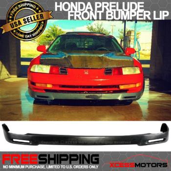 ホンダ Prelude  エアロ 92-96 Honda Prelude P1 Racing Front Bumper Lip PU 93 94 92-96ホンダプレリュードP1レーシングフロントバンパーリップPU 93 94