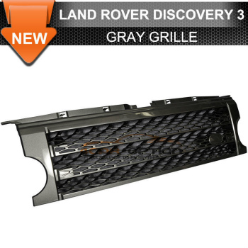 Land Rover Lr3 Discovery 3 グリル 05-09 Land Rover Lr3 Discovery 3 Gray Grill Grille 05-09ランドローバーLr3とディスカバリー3グレーグリルグリル