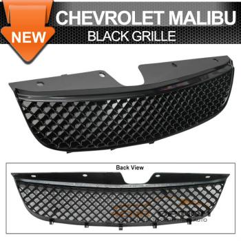 Chevrolet Malibu グリル 97-99 Chevrolet Chevy Malibu Black Mesh Grille Ls 97?99シボレーシボレーマリブブラックメッシュグリルのL