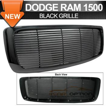 Dodge Ram 1500 グリル Fits 02-05 Dodge Ram 1500 03-05 Dodge Ram 2500 3500 Mesh Grille Unpainted - ABS ABS - 02-05ダッジラム1500 03-05ダッジラム2500 3500メッシュグリル未塗装フィット