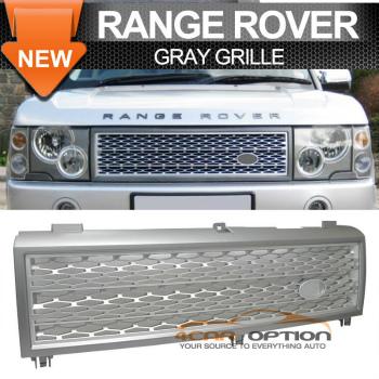 Land Range Range Rover グリル 03-05 Land Range Rover Grill Grille Gray Silver Grey 03-05ランドレンジローバーグリルグリルグレーシルバーグレー
