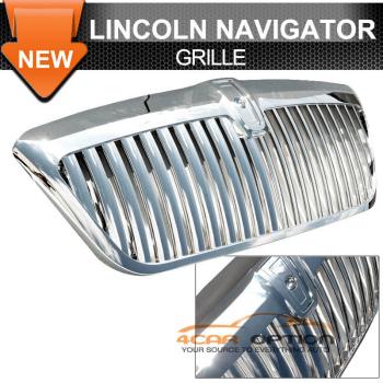 Lincoln Navigator グリル 98-02 Lincoln Navigator Vertical Grille Chrome Grill 98-02リンカーンナビゲーター垂直グリルクロームグリル