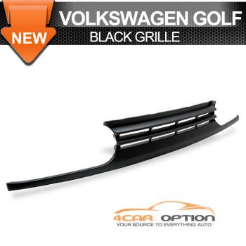Volks Wagen Golf グリル 93-98 Volkswagen VW Golf Mk3 Black Grill Grille 93-98フォルクスワーゲンVWゴルフMK3ブラックグリルグリル