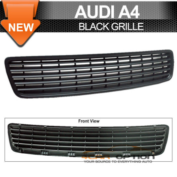 Audi A4 グリル 96-01 Audi A4 Sport Black Grille Grill Type A 99 96から01アウディA4スポーツブラックグリルグリルタイプA 99