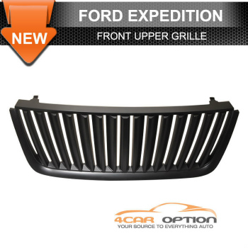 Ford Expedition グリル 03-06 Ford Expedition Upper Billet Grille Grill Black 03-06フォードエクスペディションアッパービレットグリルグリルブラック