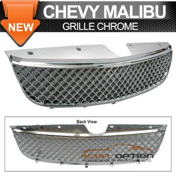 Chevrolet Malibu グリル 97-99 Chevrolet Malibu Chrome Mesh Grill Grille Ls 97?99シボレーマリブクロームメッシュグリルグリルのL