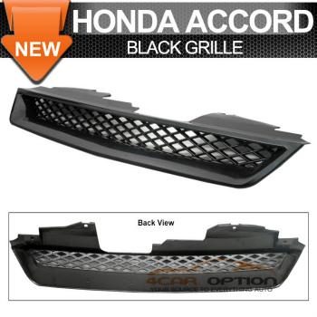 Honda Accord グリル 94-97 Honda Accord T-R Ex Dx Lx Black Front Grille 94-97ホンダアコードT-R例DxをLxとブラックフロントグリル