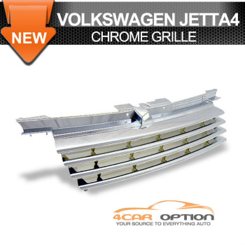Volks Wagen Jetta 4 グリル 99-04 VW Bora Jetta 4 Chrome Front Grille 99から04 VWボラボラジェッタ4クロームフロントグリル