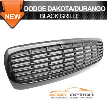 Dodge Dakota Durango グリル 97-03 Dodge Dakota Durango 2Dr 4Dr Sports Style Grid Grill Grille Guard - ABS 97から03ダッジダコタデュランゴ2DR 4DRスポーツスタイルグリッドグリルグリルガード - ABS