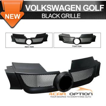 Volks Wagen Golf 5 Mk5 グリル 06-07 Volkswagen VW Golf 5 Mk5 Black Grille Grill 06-07フォルクスワーゲンVWゴルフ5 MK5ブラックグリルグリル