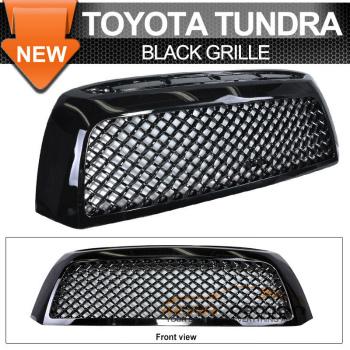 Toyota Tundra グリル 07-09 Toyota Tundra Black Mesh Grill Grille Bk 07-09トヨタタンドラブラックメッシュグリルグリルのBk