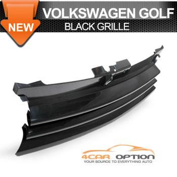 Volks Wagen Golf 4 Mk4 グリル 99-06 VW Golf 4 Mk4 Front Hood Black Grille 00 01 02 03 99から06 VWゴルフ4 MK4フロントフードブラックグリル00 01 02 03