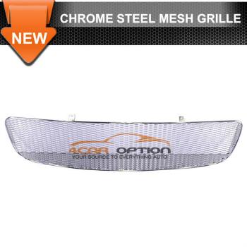 Audi TT グリル 90-06 Audi TT Chrome Steel Mesh Grille 90 93 94 95 96 97 98 99 00 01 02 90から06アウディTTクロームスチールメッシュグリル90 93 94 95 96 97 98 99 00 01 02