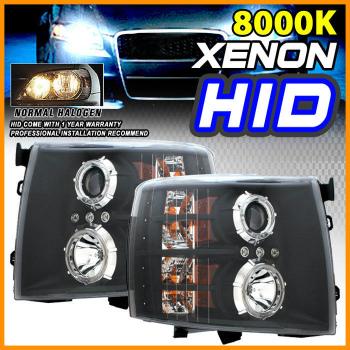 <title>☆送料無料☆USパーツ 海外メーカー輸入品 Chevrolet Silverado ヘッドライト 評価 HID 8000K 07-10 Chevy Halo Projector BLK Clear Headlight LH RH 07-10シボレーシルバラードヘイロープロジェクターBLKクリアヘッドライトLH</title>