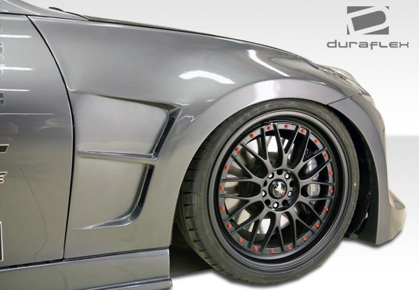 USパーツ 09-16フィット日産370ZサーキットDuraflexボディキット - フェンダー! 105845 09-16 Fits Nissan 370Z Circuit Duraflex Body Kit- Fenders!!! 105845