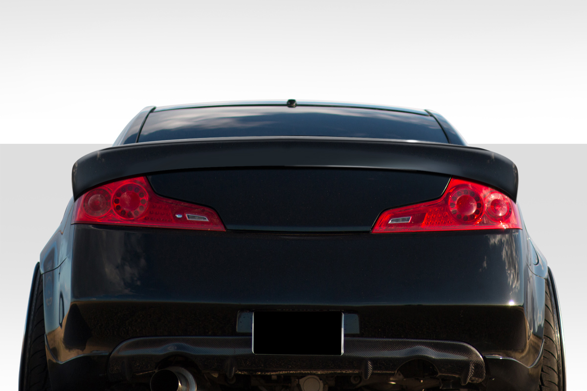 USパーツ 03-07インフィニティGクーペダウンフォースDuraflexボディキット - ウィング/ホイルフィット er !!! 112745 03-07 Fits Infiniti G Coupe Downforce Duraflex Body Kit-Wing/Spoiler!!! 112745