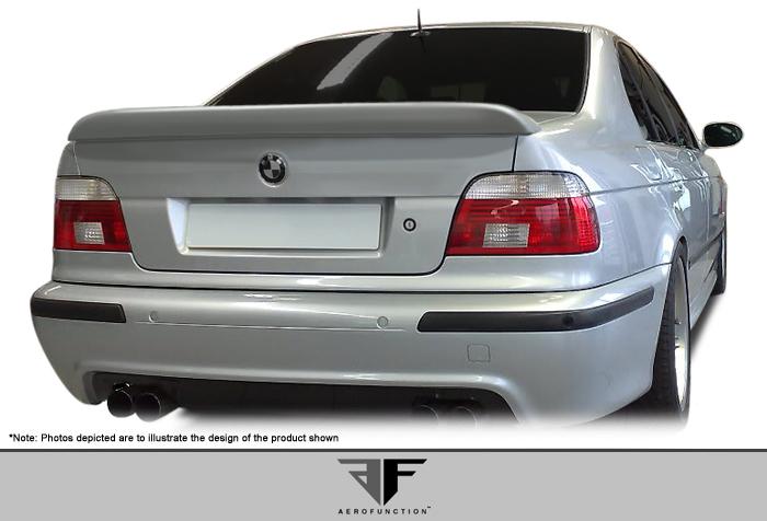 USパーツ 97-03 BMW 5シリーズ4DR AF-1エアロファンクション(GFK)ボディキット - ウィング/スポイラー er !!! 107415 97-03 BMW 5 Series 4DR AF-1 Aero Function (GFK) Body Kit-Wing/Spoiler!!! 107415