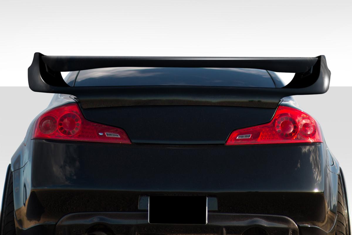 USパーツ 03-07フィットInfiniti GクーペベイダーDuraflexボディキット - ウィング/スポイラー er !!! 112762 03-07 Fits Infiniti G Coupe Vader Duraflex Body Kit-Wing/Spoiler!!! 112762