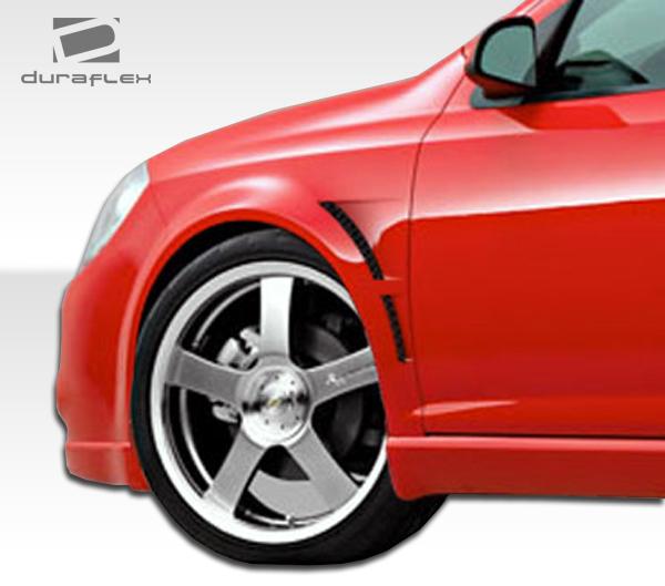USパーツ 05-10シボレーコバルトGTコンセプトDuraflexボディキット - フェンダー! 104387 05-10 Chevrolet Cobalt GT Concept Duraflex Body Kit- Fenders!!! 104387