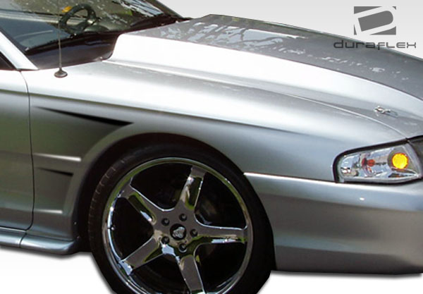 USパーツ 94-98フォードマスタングGTC Duraflexボディキット - フェンダー! 105724 94-98 Ford Mustang GTC Duraflex Body Kit- Fenders!!! 105724