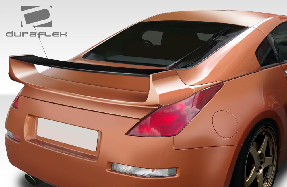 USパーツ 03-08フィットNissan 350Z 2DR Vader 3 Duraflexボディキット - ウィング/スポイル er !!! 108080 03-08 Fits Nissan 350Z 2DR Vader 3 Duraflex Body Kit-Wing/Spoiler!!! 108080