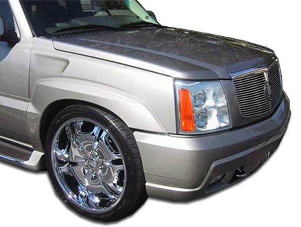 USパーツ 02-06キャデラックエスカレードプラチナオーバーストックボディキット - フェンダー! 100330 02-06 Cadillac Escalade Platinum Overstock Body Kit- Fenders!!! 100330