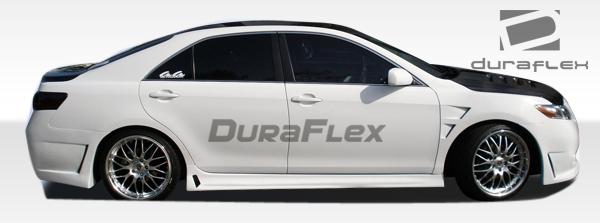 ☆送料無料☆USパーツ 海外メーカー輸入品 USパーツ 07-11トヨタカムリB-2 Duraflexサイドスカートボディキット 104351 07-11 Toyota B-2 お得セット 新作続 Camry Side Duraflex Kit Skirts Body