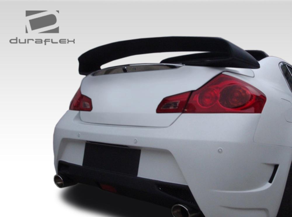 USパーツ 07-13フィットインフィニティGセダンエリートデュラフレックスボディキット - ウィング/スポイル er !!! 107669 07-13 Fits Infiniti G Sedan Elite Duraflex Body Kit-Wing/Spoiler!!! 107669