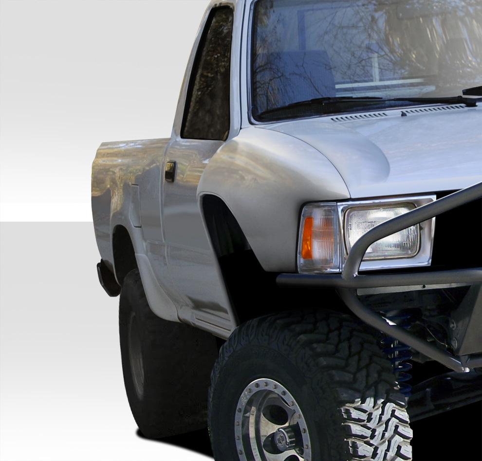 USパーツ 89-95トヨタピックアップバルジDuraflexボディキット - フロントフェンダー! 108877 89-95 Toyota Pickup Bulge Duraflex Body Kit- Front Fenders!!! 108877