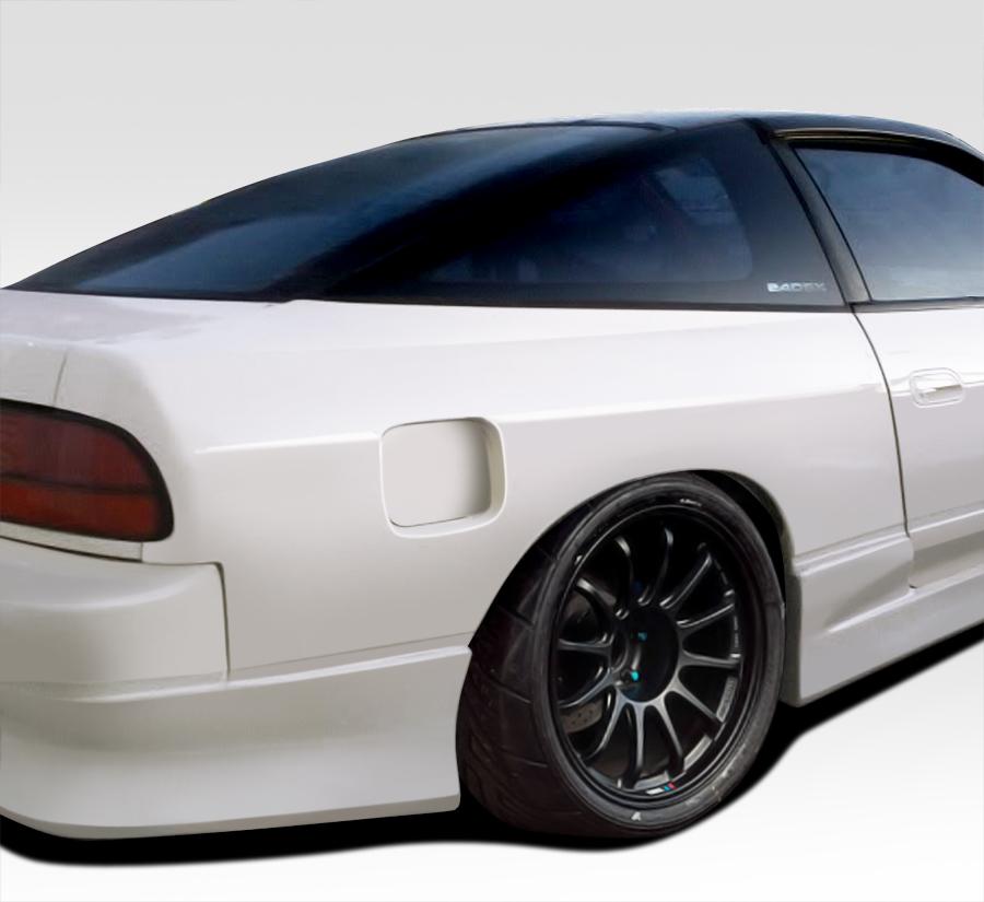 USパーツ 89-94 Fits Nissan 240SX G-PR Duraflex 50MMリアフェンダーフレア!!! 109986 89-94 Fits Nissan 240SX G-PR Duraflex 50MM Rear Fender Flares!!! 109986