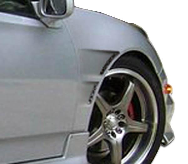 USパーツ 00-05トヨタセリカGTコンセプトDuraflexボディキット - フェンダー! 104202 00-05 Toyota Celica GT Concept Duraflex Body Kit- Fenders!!! 104202