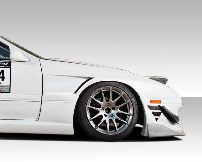 USパーツ 86-91マツダRX7 FKスポーツDuraflexボディキット - フロントフェンダー! 109058 86-91 Mazda RX7 FK Sport Duraflex Body Kit- Front Fenders!!! 109058