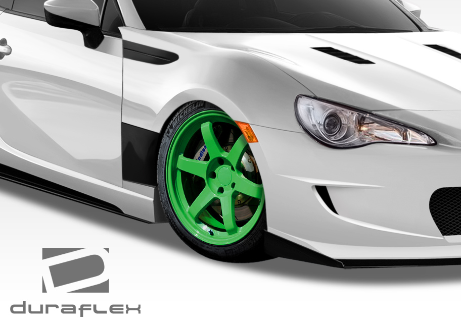 USパーツ 13-16サイオンFRS GTコンセプトDuraflexボディキット - フェンダー! 108365 13-16 Scion FRS GT Concept Duraflex Body Kit- Fenders!!! 108365