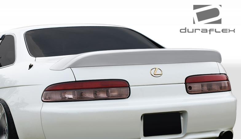 USパーツ 92-00レクサスSC AB-Fデュラフレックスボディキット - ウィング/スポイル er !!! 106582 92-00 Lexus SC AB-F Duraflex Body Kit-Wing/Spoiler!!! 106582