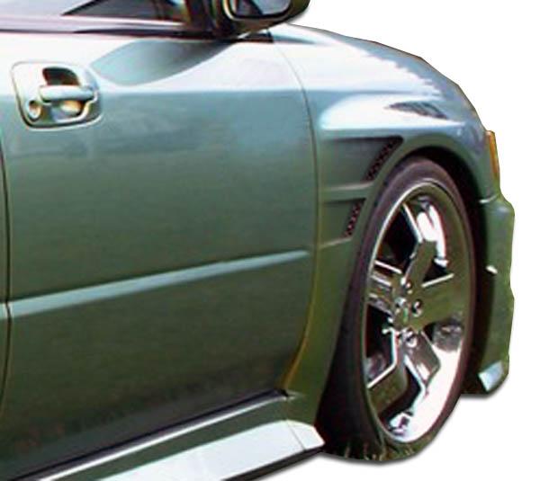 USパーツ 02-03スバルインプレッサ4DR GTコンセプトDuraflexボディキット - フェンダー! 104203 02-03 Subaru Impreza 4DR GT Concept Duraflex Body Kit- Fenders!!! 104203