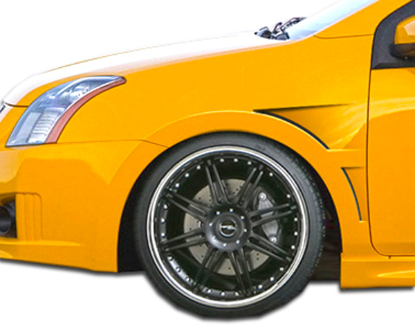 USパーツ 07-12日産セントラGTコンセプトDuraflexボディキット - フェンダー! 106216 07-12 Fits Nissan Sentra GT Concept Duraflex Body Kit- Fenders!!! 106216