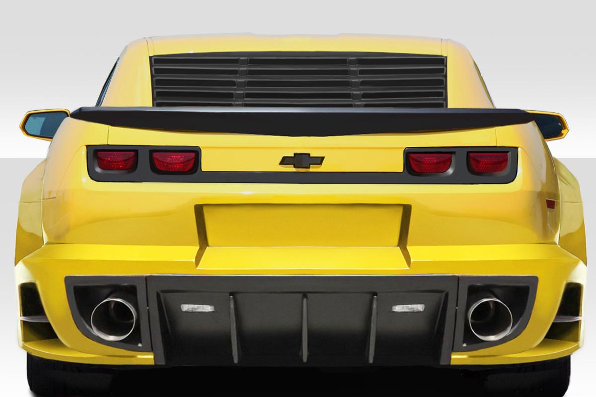 USパーツ 10-15 Chevrolet Camaro 2DR CCG Duraflex Rear Window Scoops!!! 113062