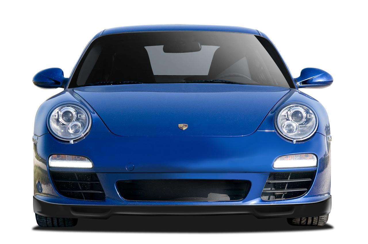 USパーツ 09-11ポルシェ997 AF-2エアロファンクション(GFK)フロントバンパーオンボディキット追加108927 09-11 Porsche 997 AF-2 Aero Function (GFK) Front Bumper Add On Body Kit 108927