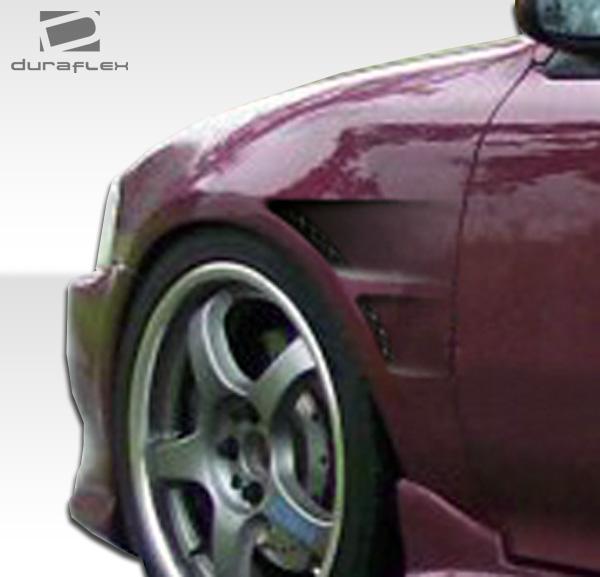 USパーツ 92-95ホンダシビック2DR GTコンセプトDuraflexボディキット - フェンダー! 104196 92-95 Honda Civic 2DR GT Concept Duraflex Body Kit- Fenders!!! 104196