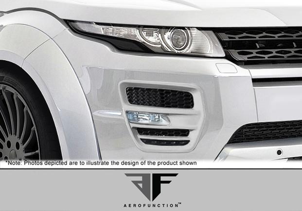 USパーツ 12-15 Land Rover Evoque AF-1エアロファンクション(GFK)が点灯! 108734 12-15 Land Rover Evoque AF-1 Aero Function (GFK) Lights!!! 108734